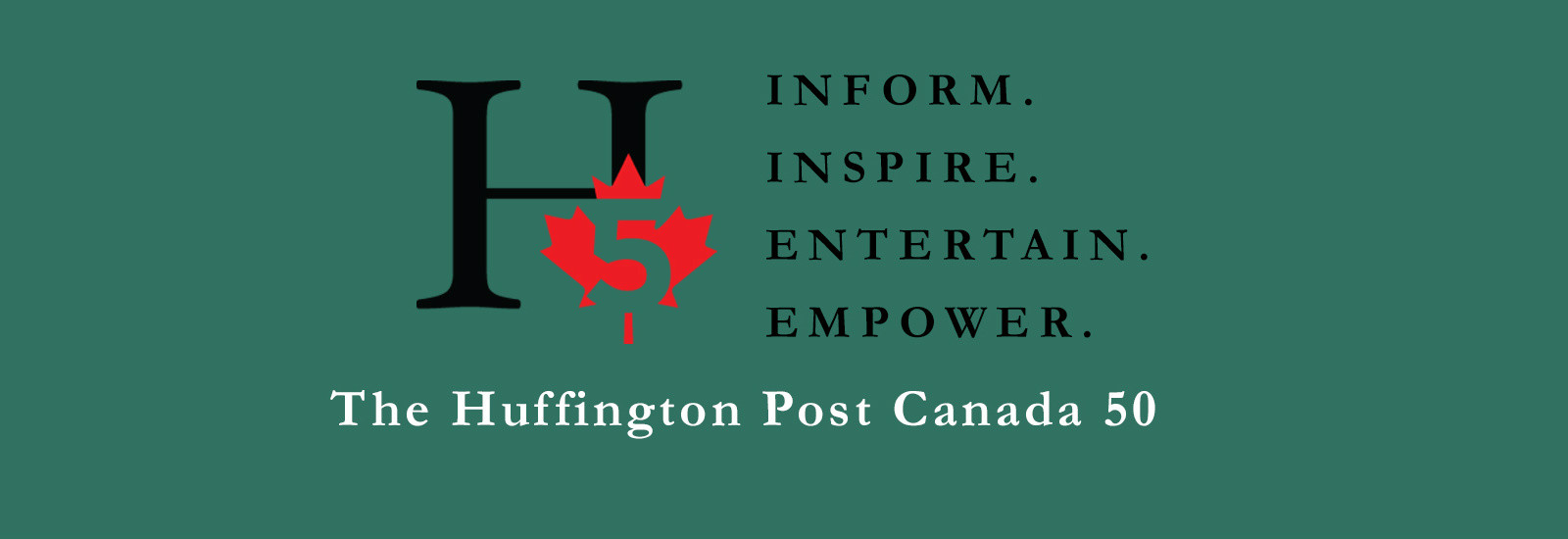 2016 Huffington Post Canada 50