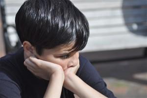 childhood wounds - sad boy